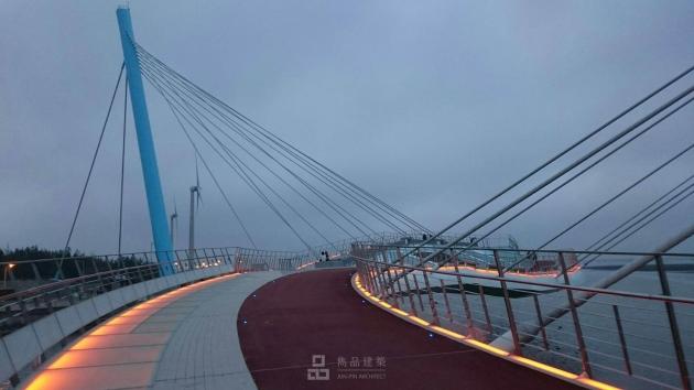 台中市清水區 高美濕地景觀橋規劃設計 7